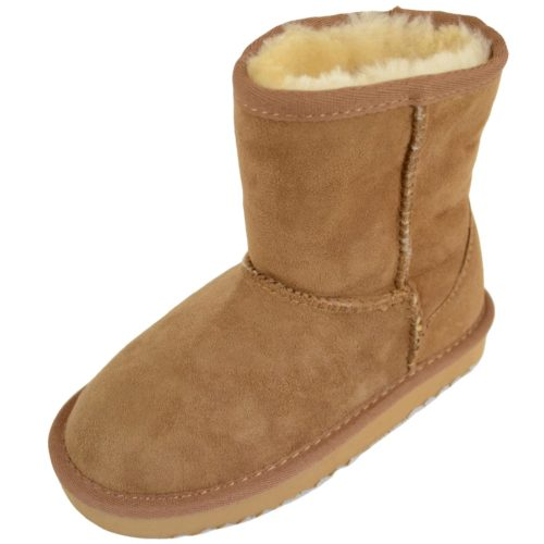 Snugrugs kids Sheepskin Boots Chestnut