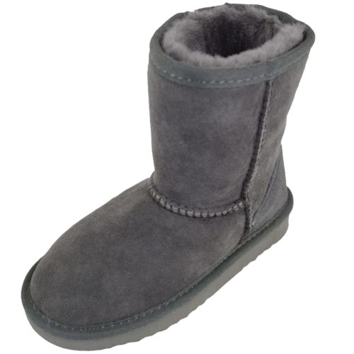 Snugrugs Kids Sheepskin Boot Grey