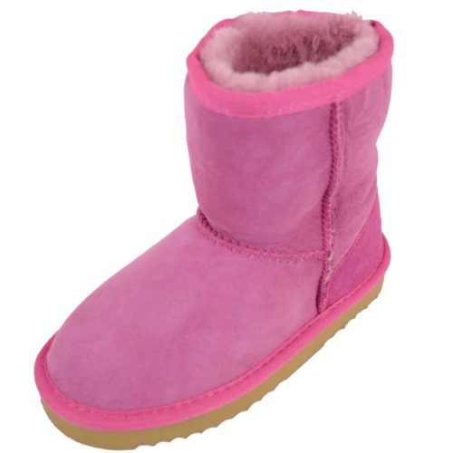 Snugrugs Kids Sheepskin Boot Pink