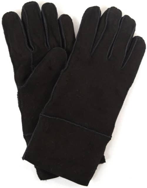 Annie - Full Sheepskin Glove - Black