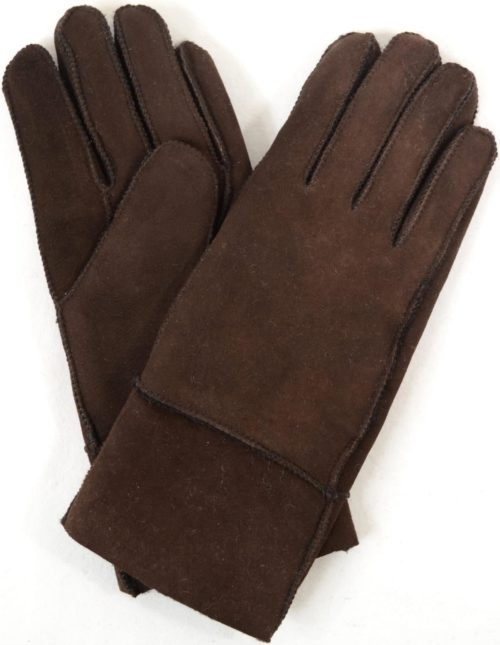Annie - Full Sheepskin Glove - Brown