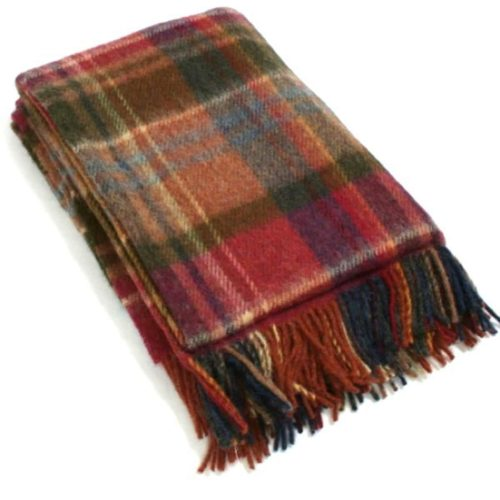 Wool Blanket - Bracken