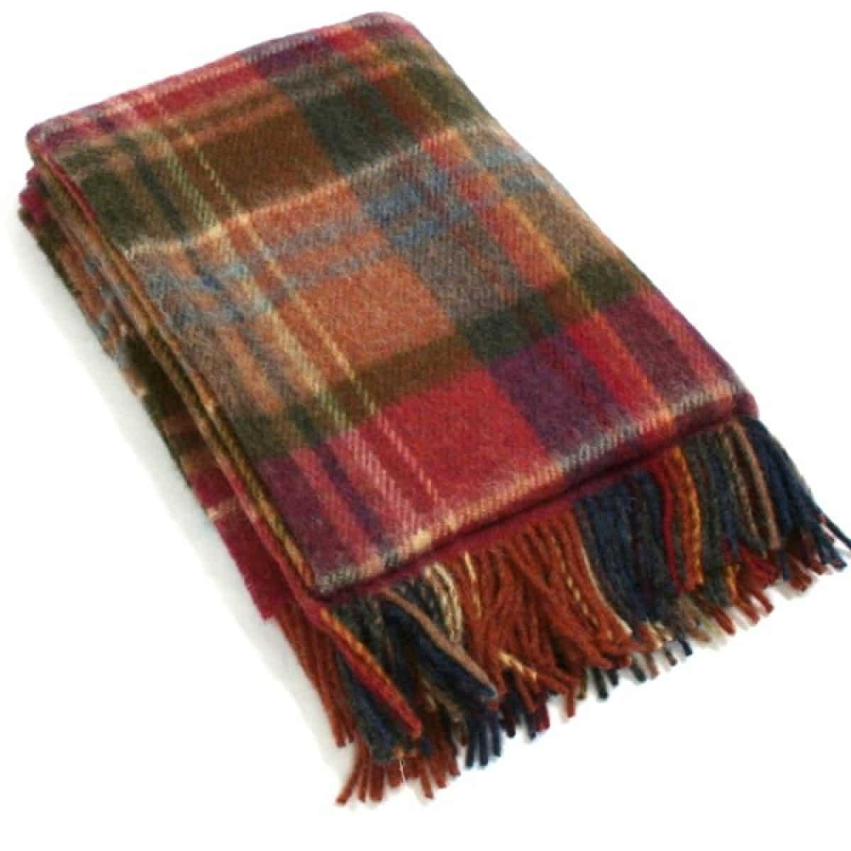 Wool Blanket - Bracken