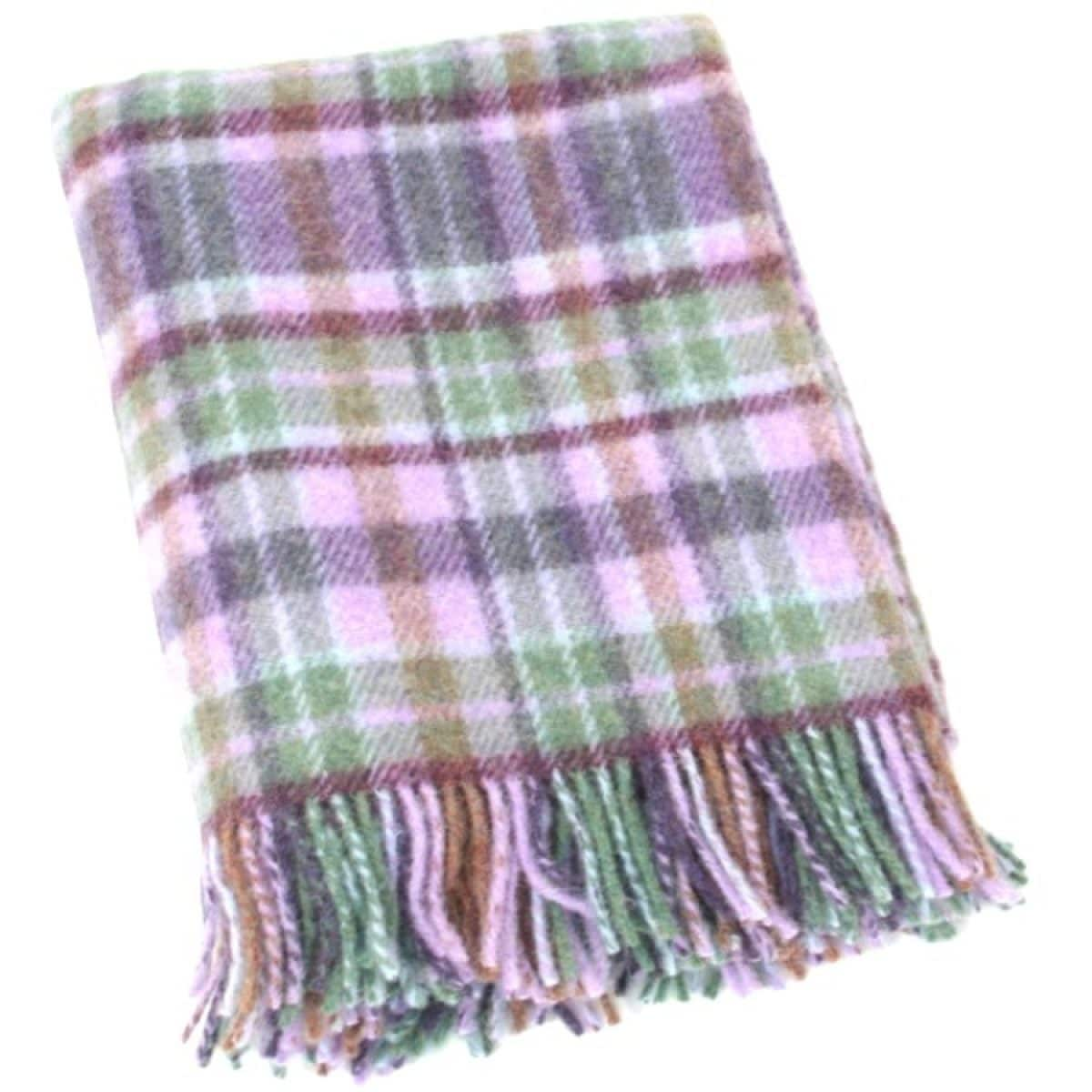 Wool Blanket - Lilac