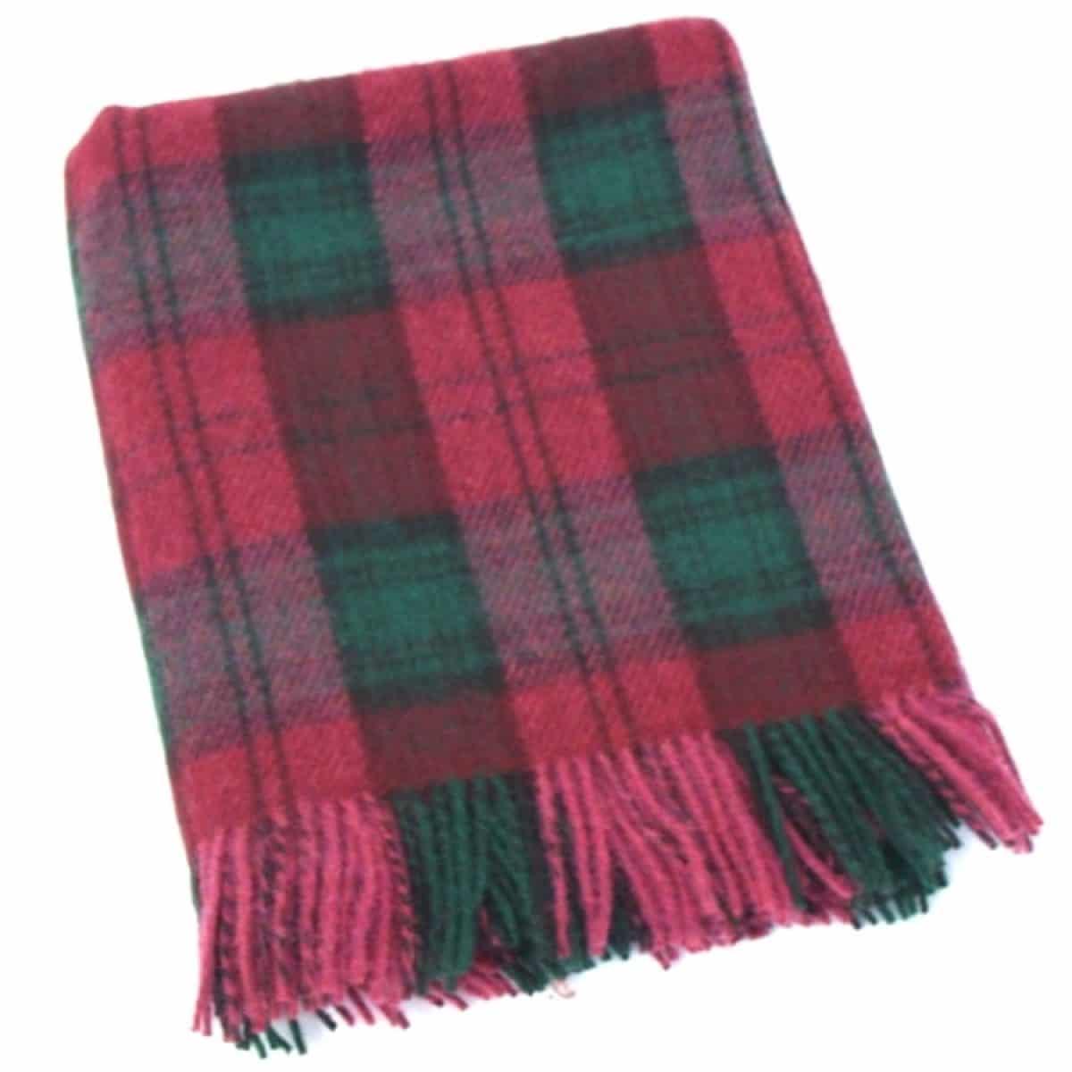Wool Blanket - Berry