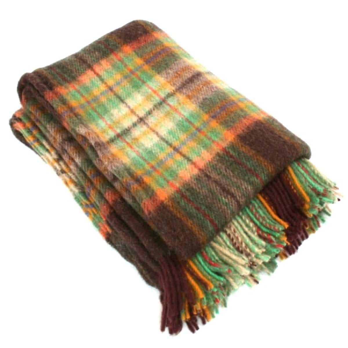 Wool Blanket - Autumn Leaf