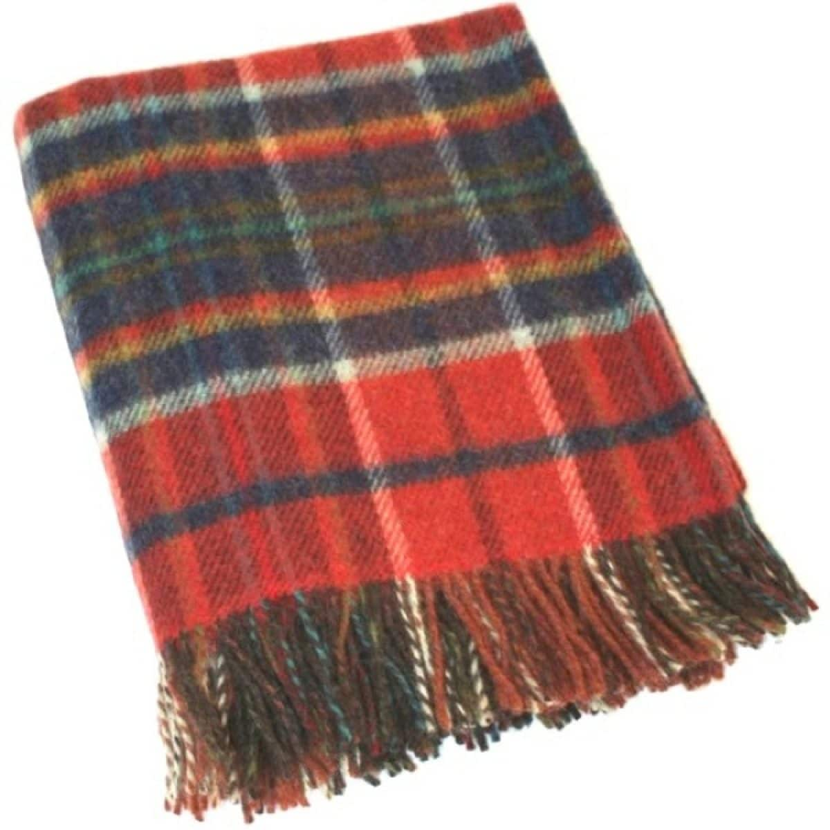 Wool Blanket - Fiery Sunset