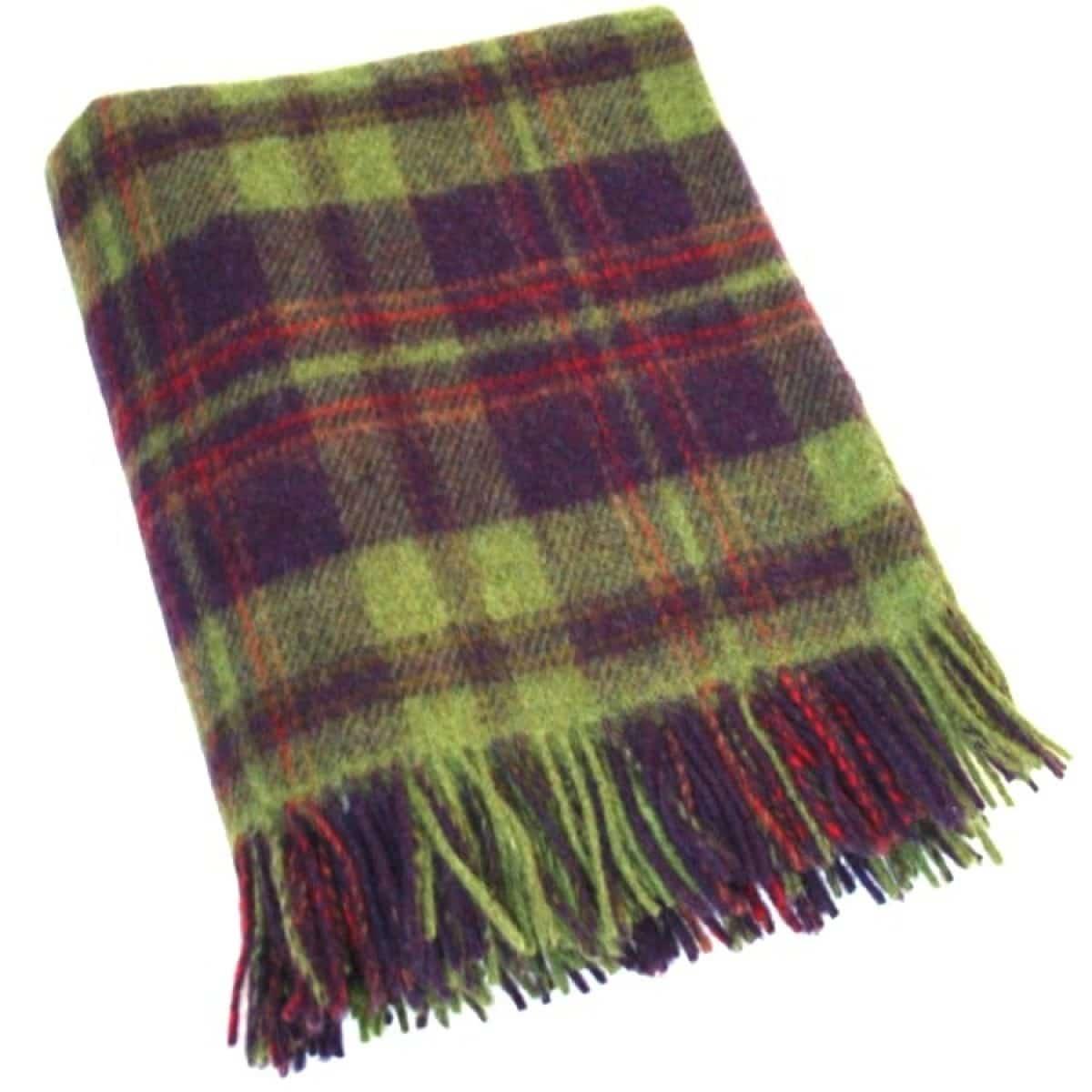 Wool Blanket - Cucumber Days