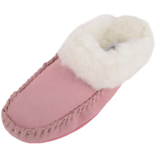 Snugrugs Ladies Sheepskin Slipper Suede sole