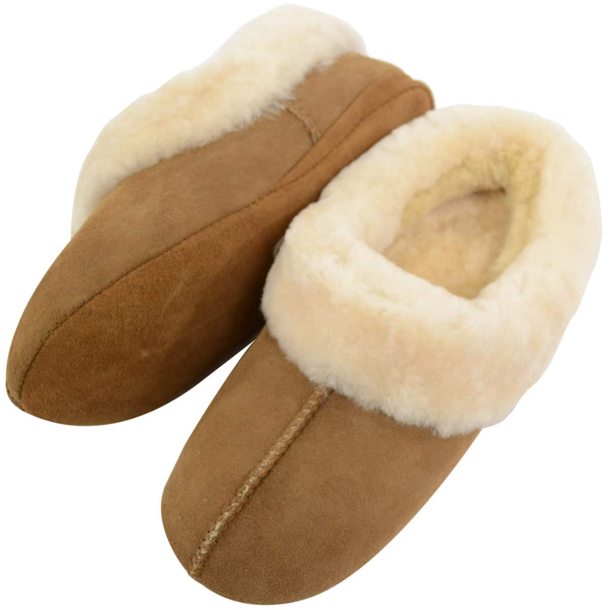 Cassie Snugrugs Ladies Sheepskin Slipper Suede sole