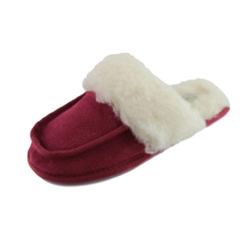 Snugrugs Ladies Wool mule slipper