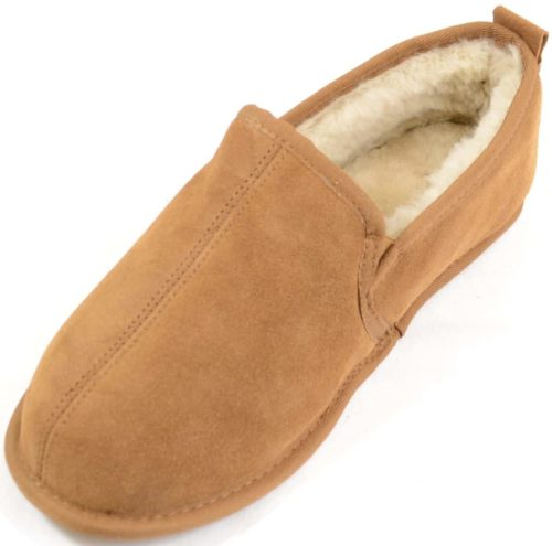 Snugrugs Mens Full Sheepskin Slipper Victor