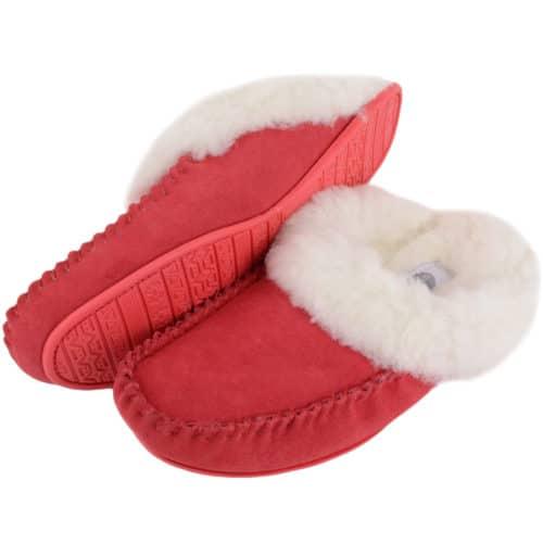 Snugrugs Ladies Sheepskin Slipper Suede sole