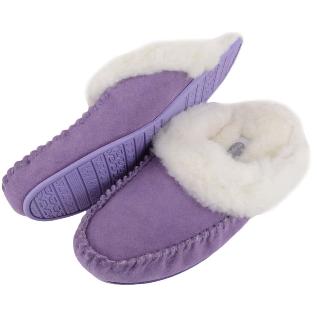 Snugrugs Ladies Sheepskin Slipper