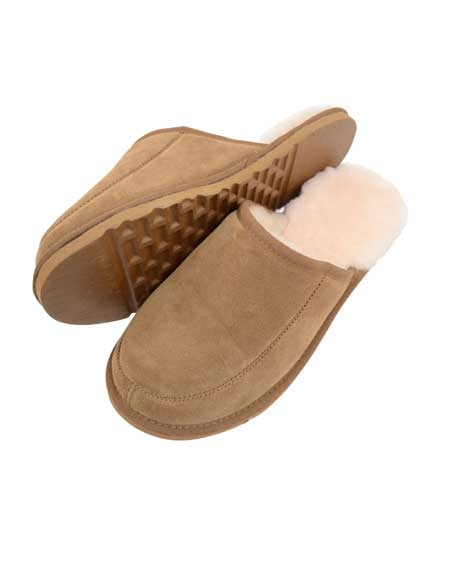 Snugrugs Curtis Mens Mule Sheepskin Slipper