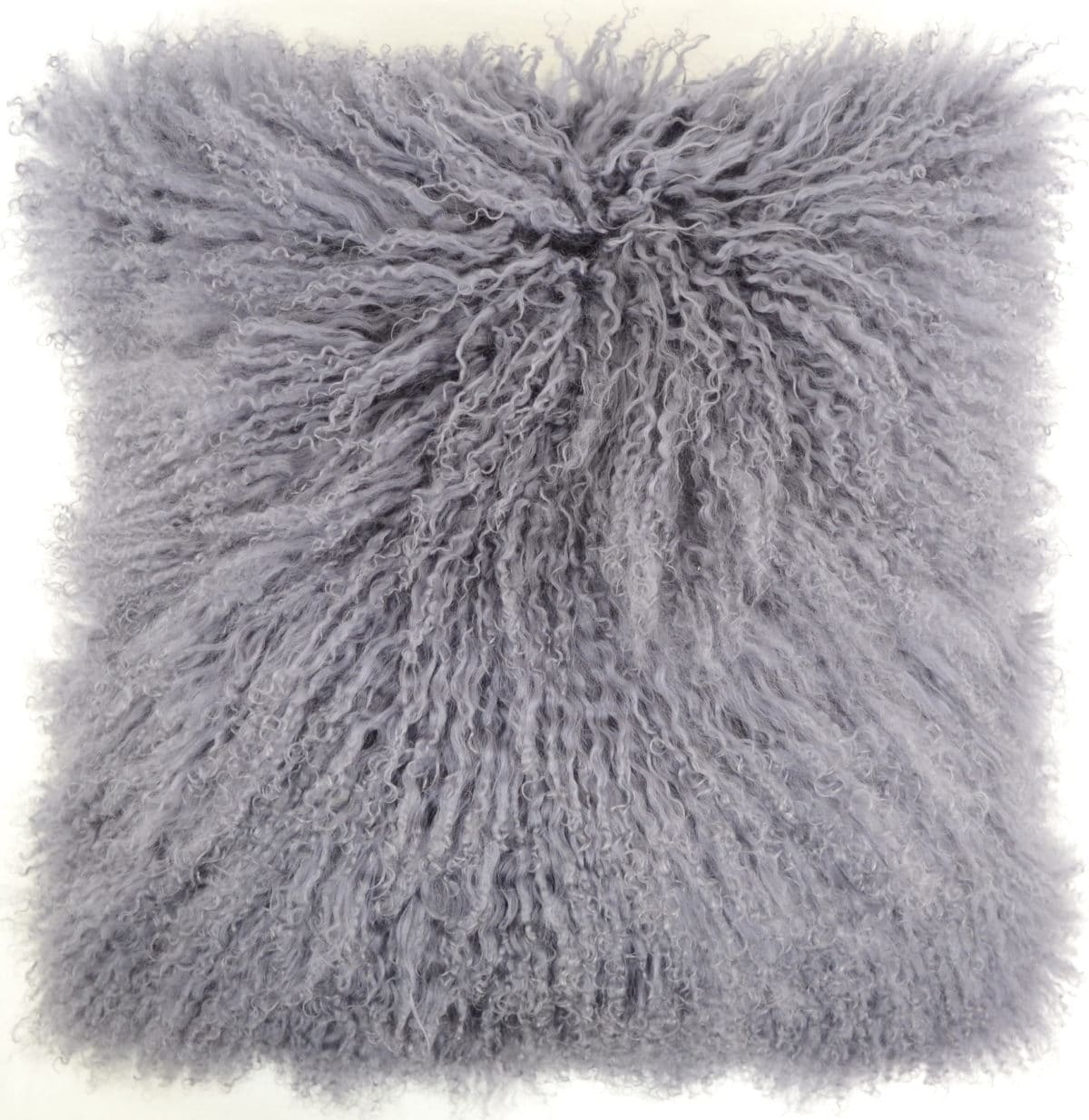 Snugrugs Mongolian Sheepskin Cushion 60cm x 60cm – Grey