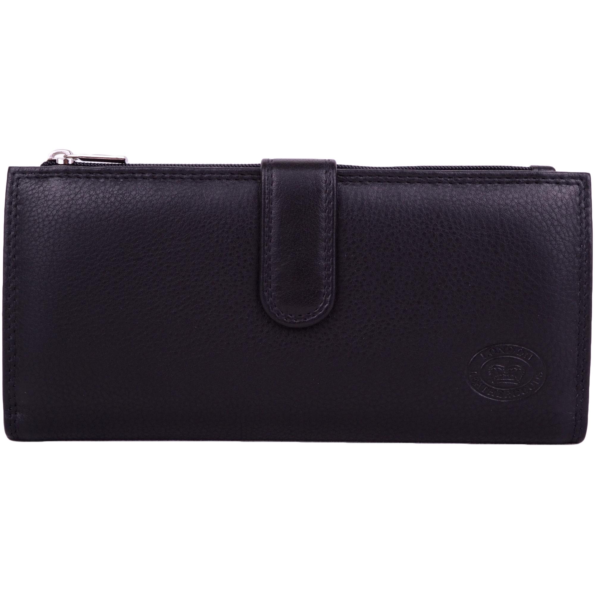 Soft Leather Slim Purse RFID Protected