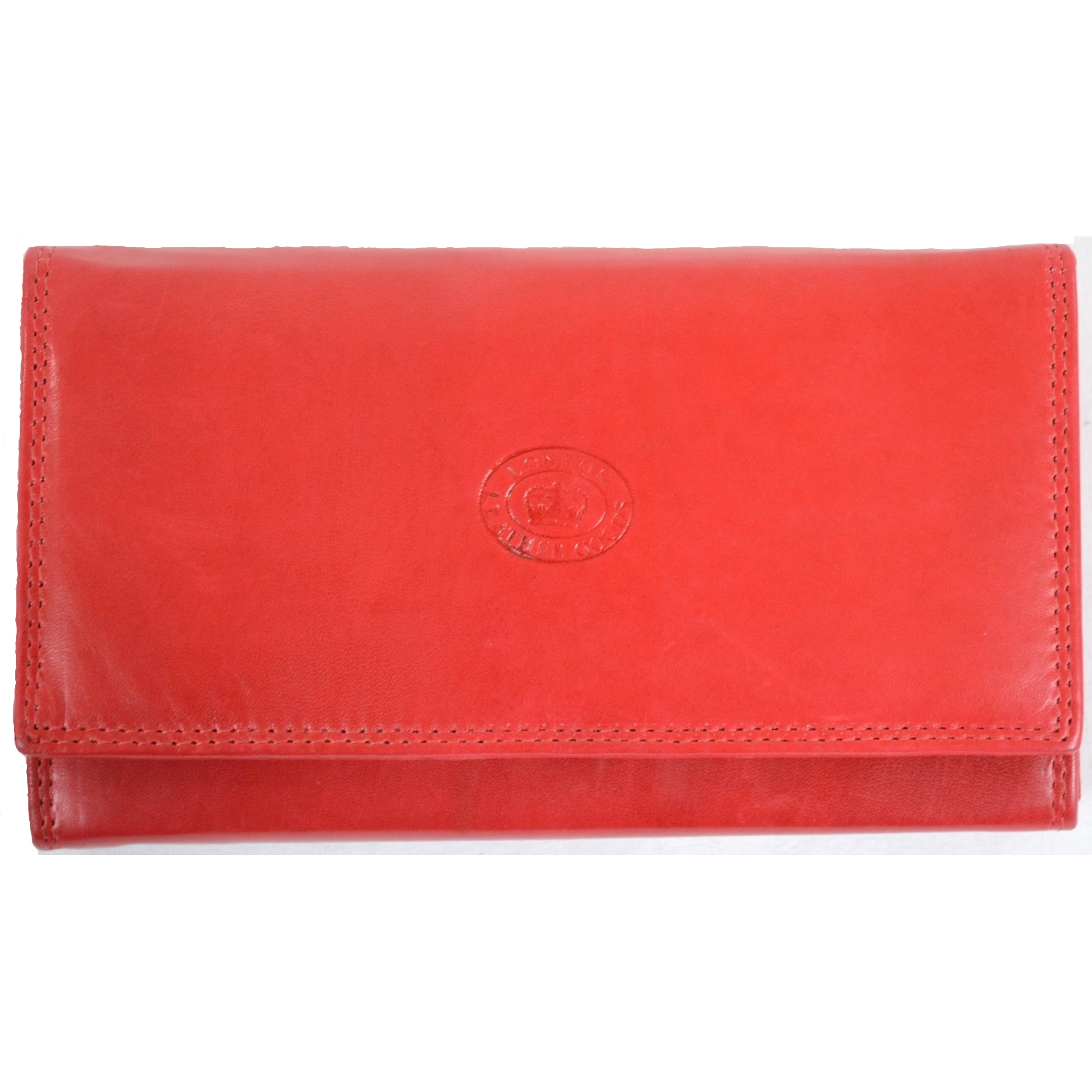 Nappa Leather Flap-Over Purse