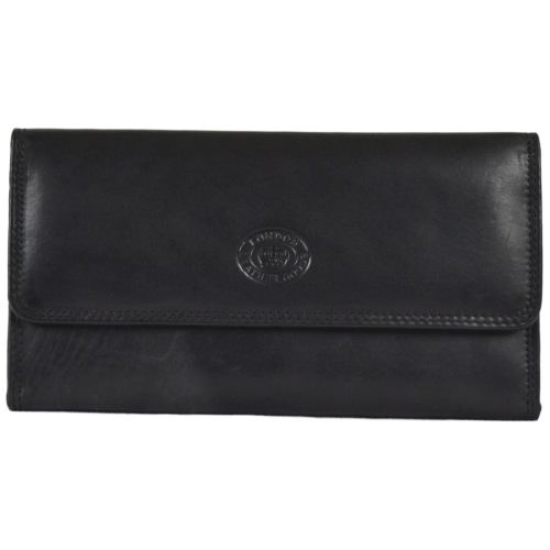Large Soft Nappa Leather Matinee Purse