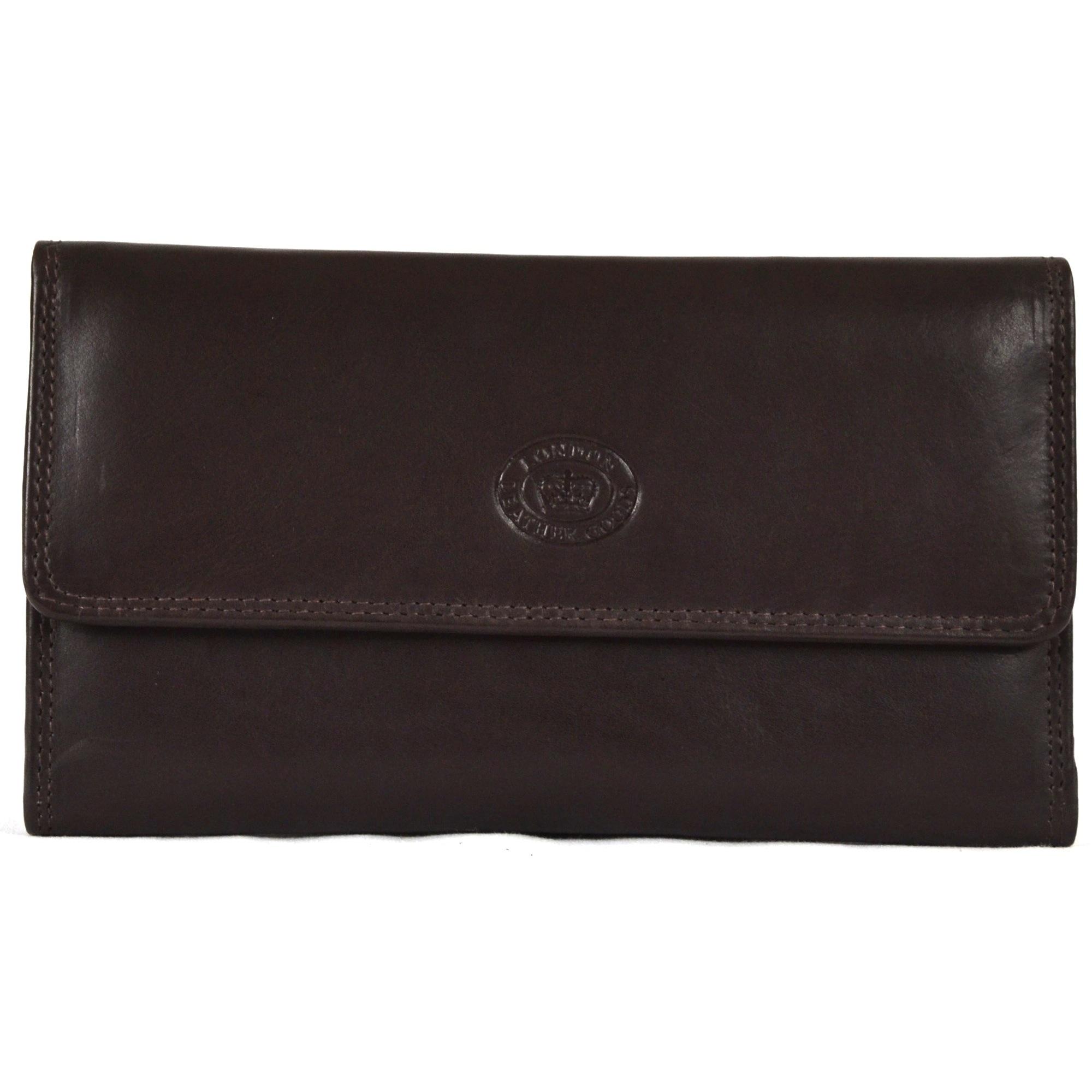 Large Soft Nappa Leather Matinee Purse