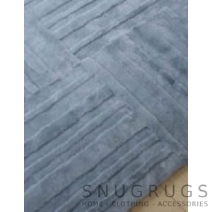 Bowron Muddle Shearling Rug - Charcoal