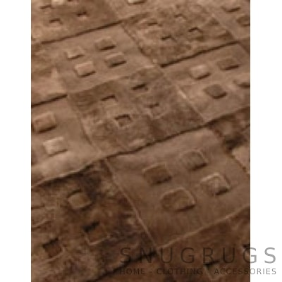 Bowron Vintage 45 Shearling Rug - Brown
