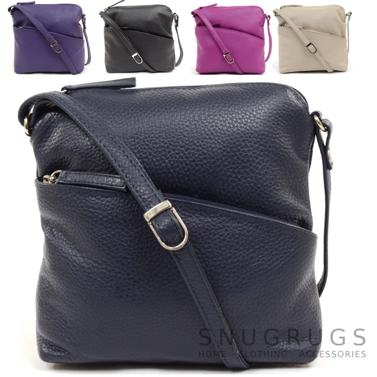 Erin - Leather Cross Body / Shoulder Bag
