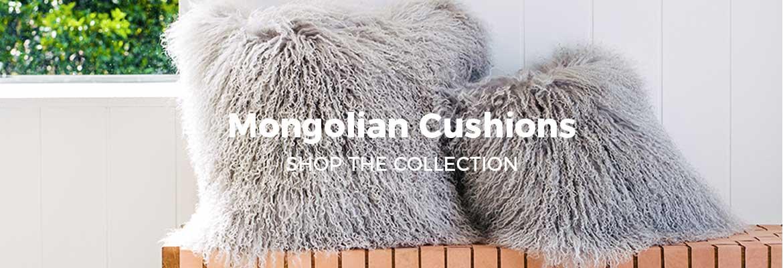 SNUGRUGS Mongolian Cushions