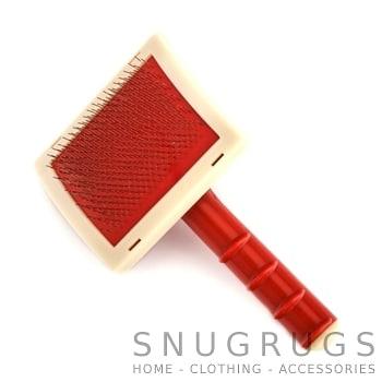 Rug Brush Red SnugRugs