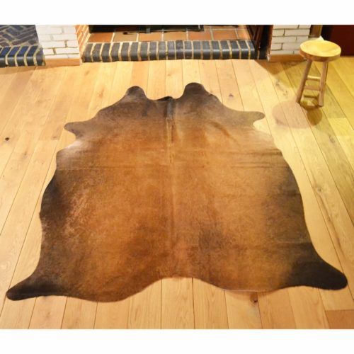 Cowhide Rug 163 | 220 x 160 Brown