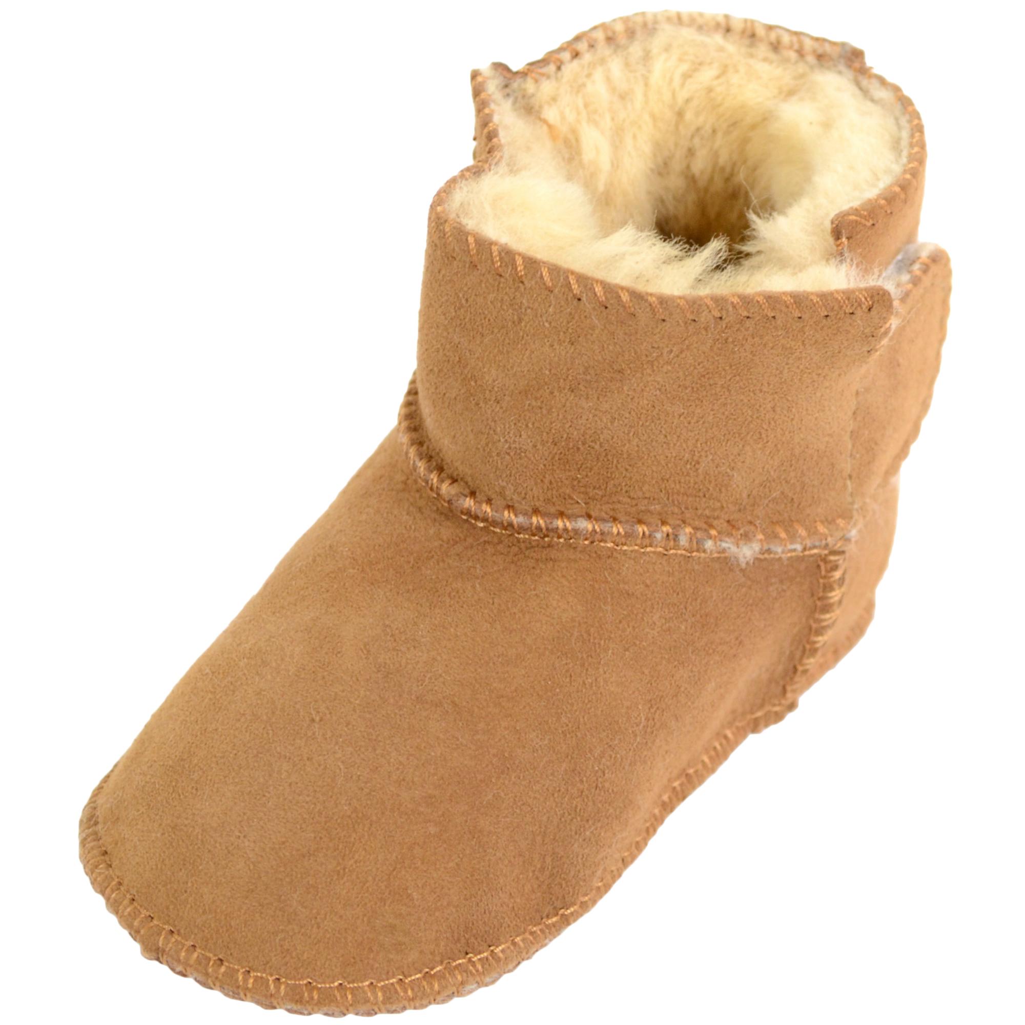 Baby Full Sheepskin Booties – Snugrugs