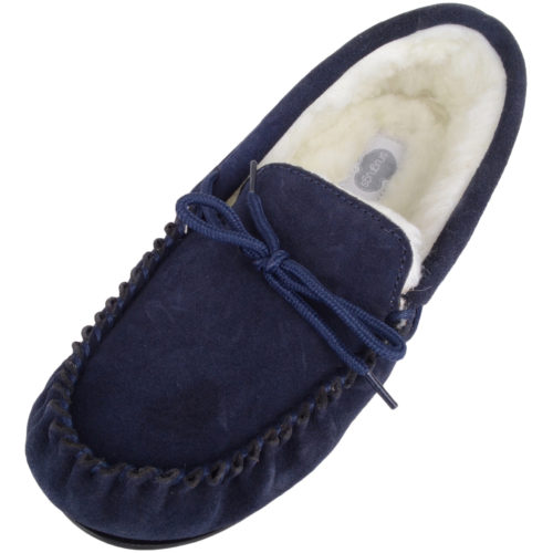 c632a4349 Ladies Wool Moccasin Slippers | Women's Moccasins | Snugrugs UK