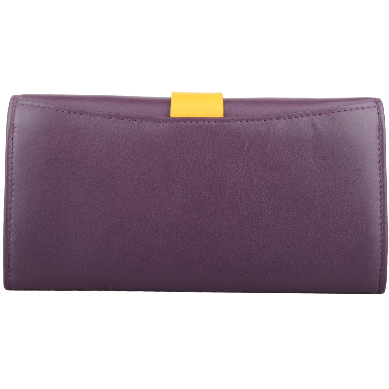 Large Soft Leather Bi-Fold Purse - Anne