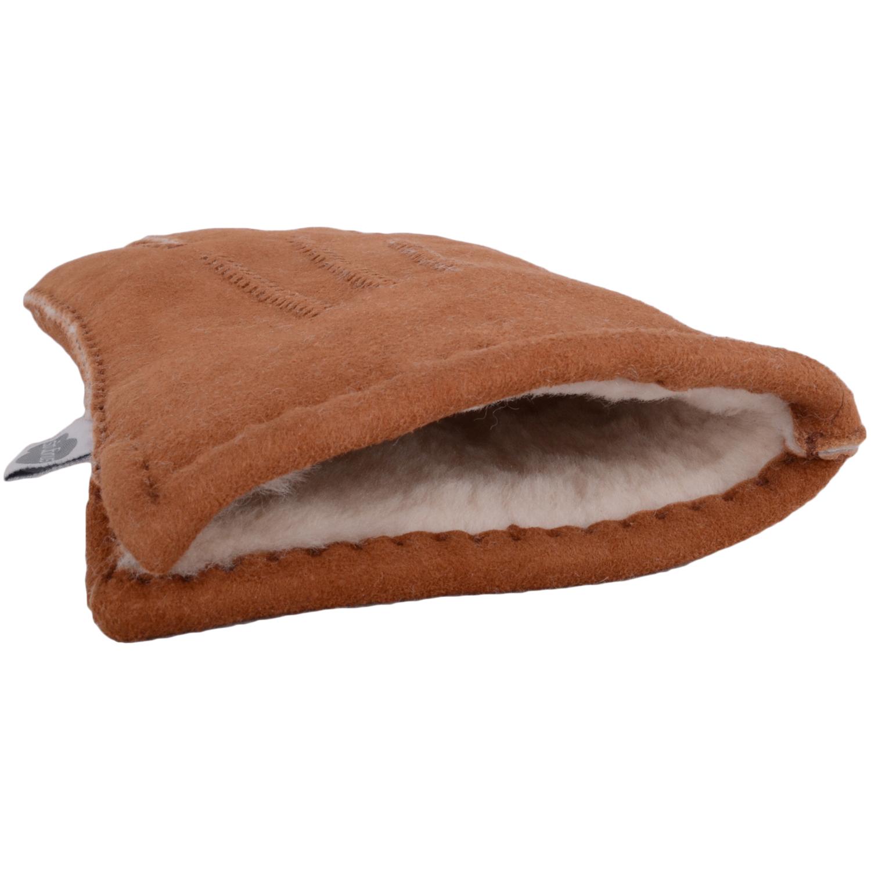 Full Sheepskin Gloves - Tan