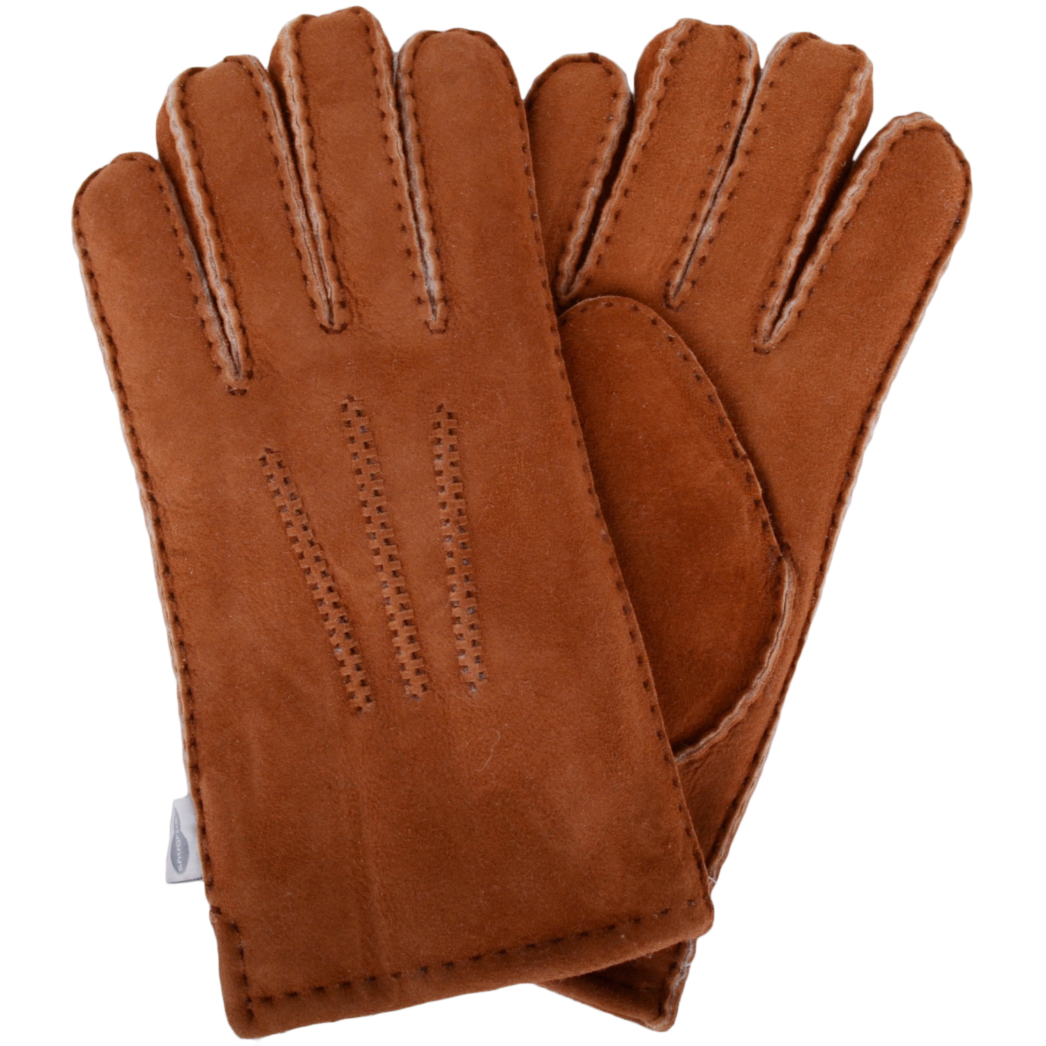 Full Sheepskin Gloves - Tan