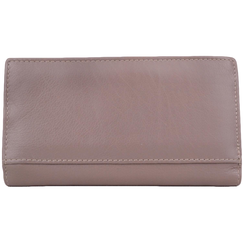 Super Soft Multi-Colour Bi-Fold Purse - Layla - Taupe