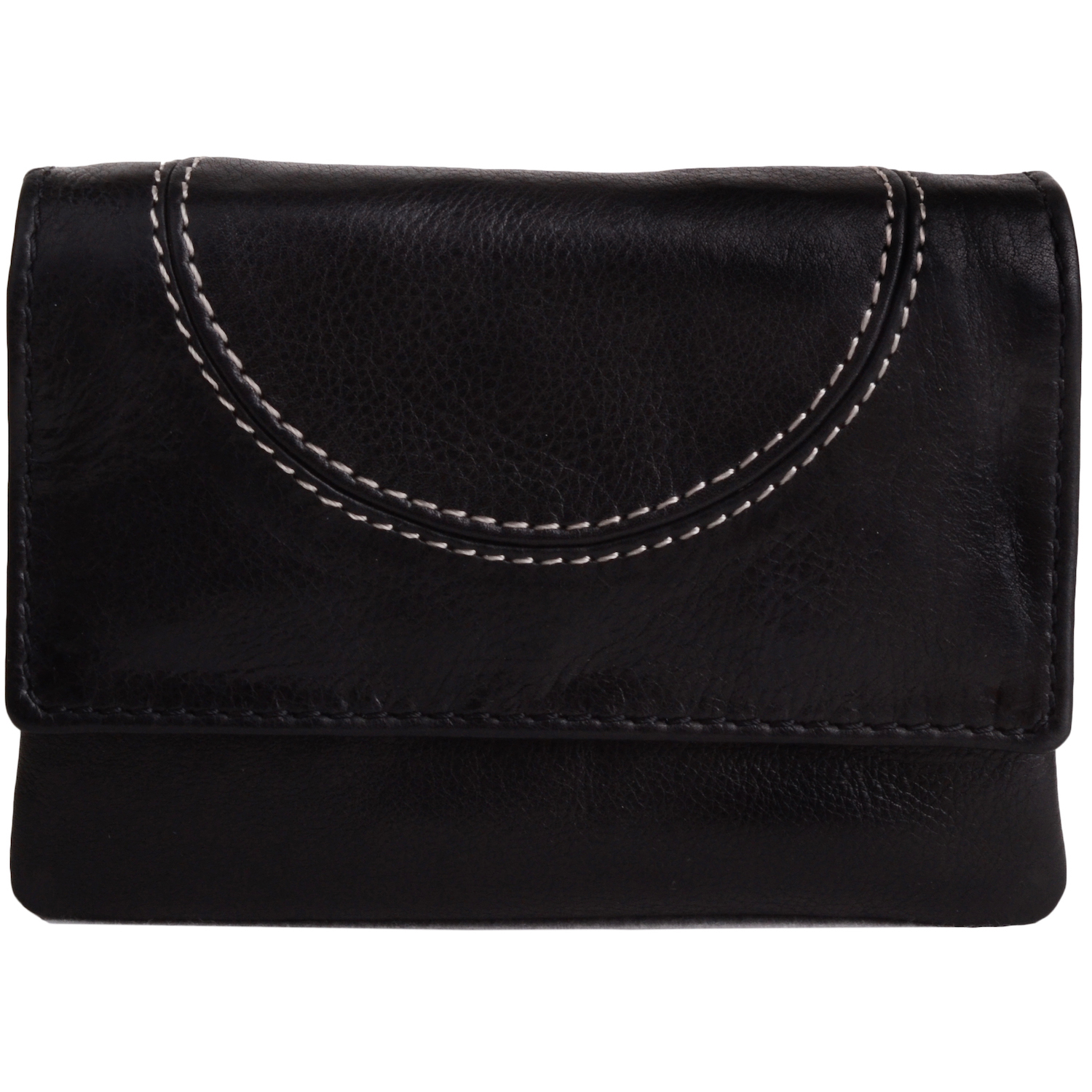 Soft Leather Coin Holder Purse - Skye