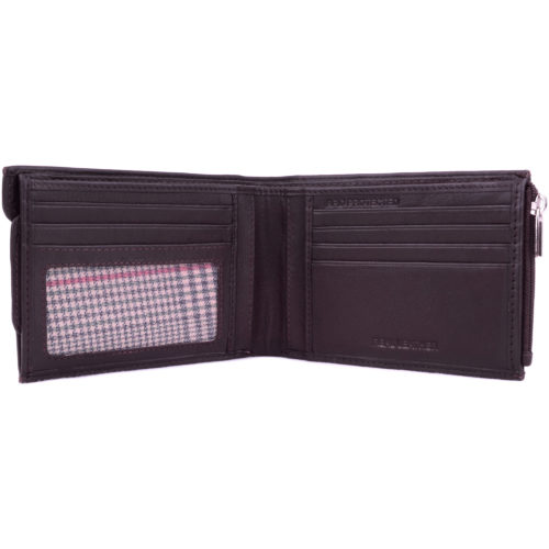 Leather Money Wallet RFID Protected - Brown