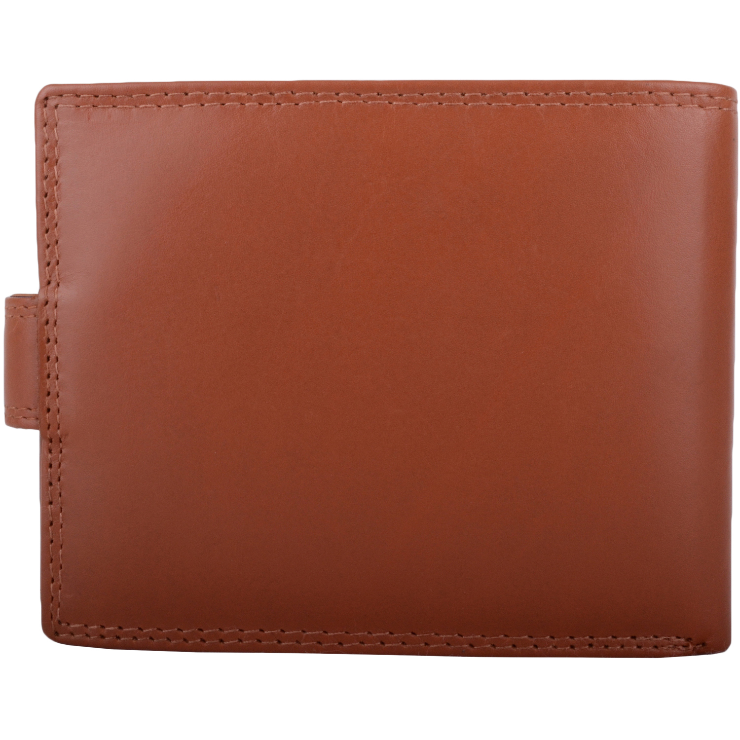 Soft Leather Bi-Fold RFID Protected Wallet - Tan