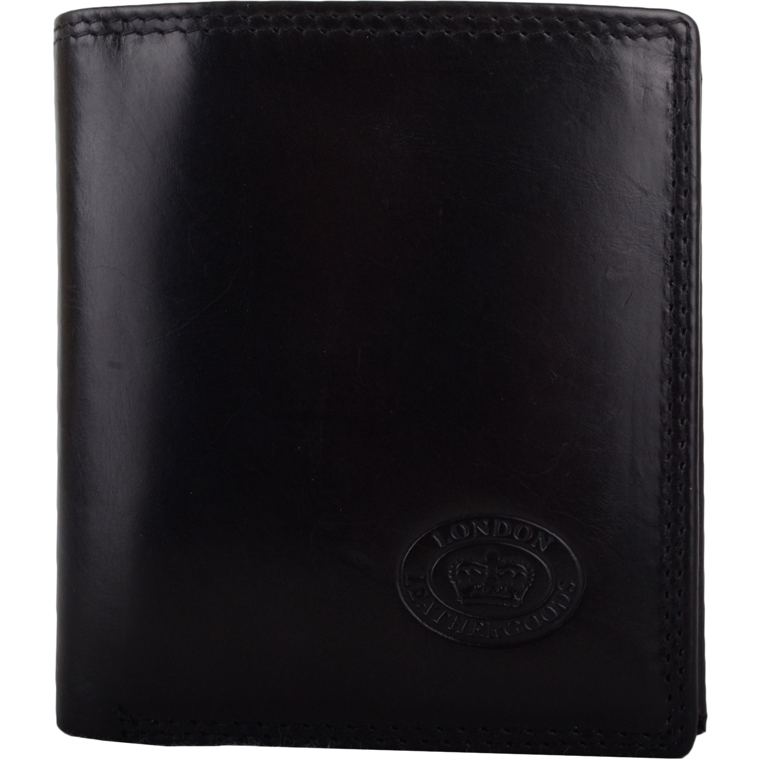 Leather RFID Protected Coin / Money Holder - Black