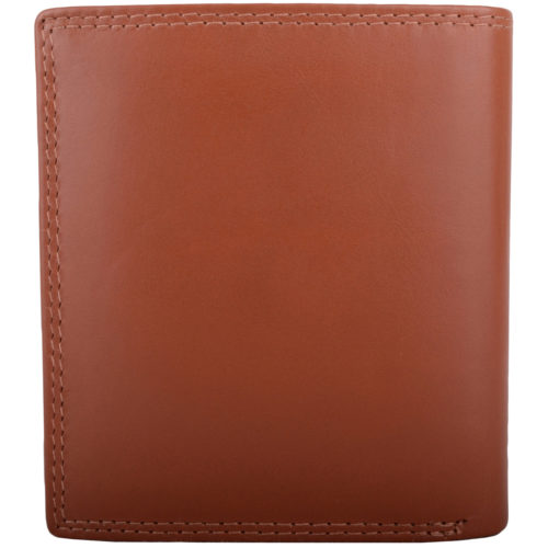 Leather RFID Protected Coin / Money Holder - Tan