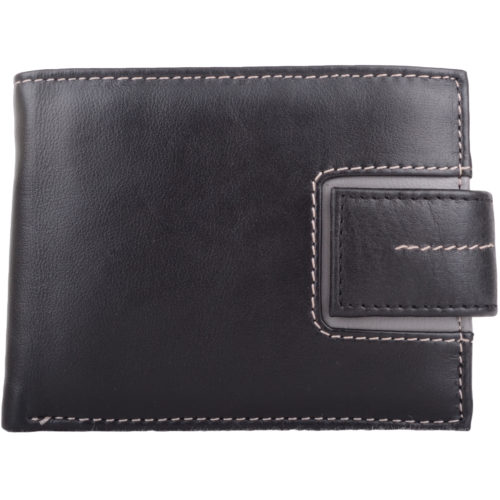 Leather Bi-Fold Wallet Multiple Features - Andrew
