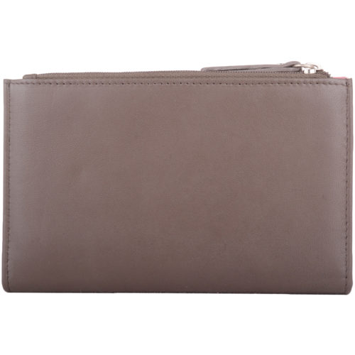 Soft Leather Slim Money / Coin Purse - Angie
