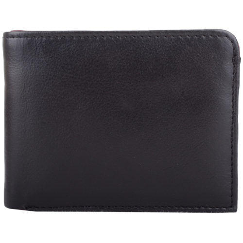 Soft Leather Bi-Fold Money Wallet - Arlen