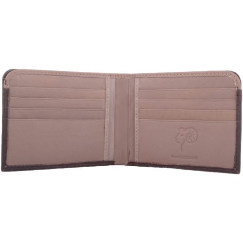 Soft Leather Bi-Fold Money Wallet - Arlen
