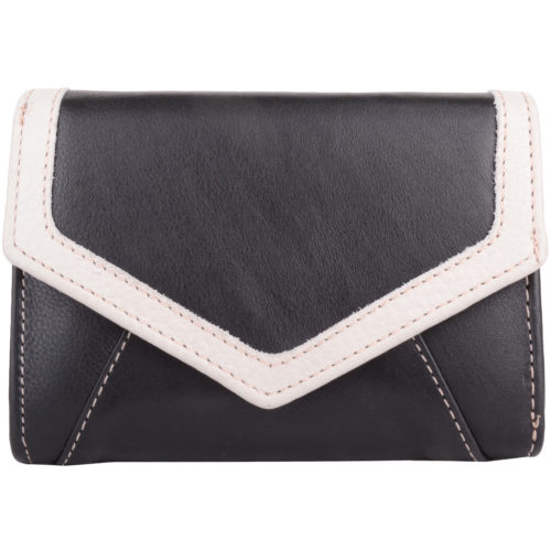 Soft Leather Bi-Fold Purse Multiple Features - Carla