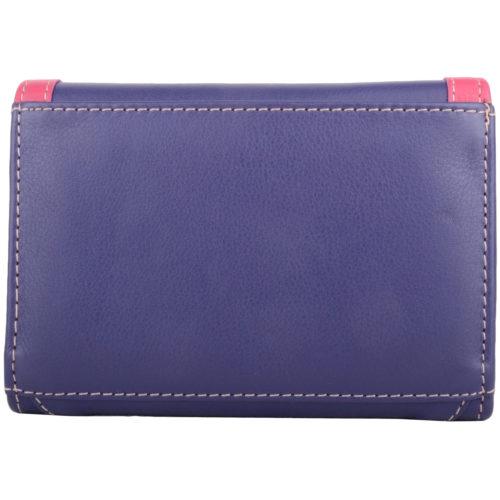 Soft Leather Bi-Fold Purse Multiple Features - Carla