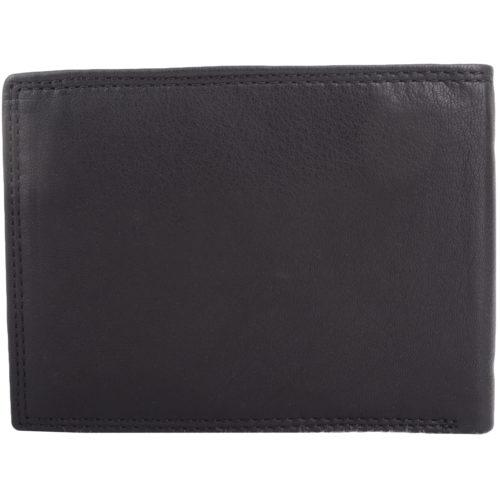 Soft Leather Bi-Fold Money Wallet - Colin