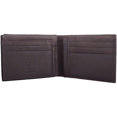 Soft Leather Bi-Fold Money Wallet - Colin