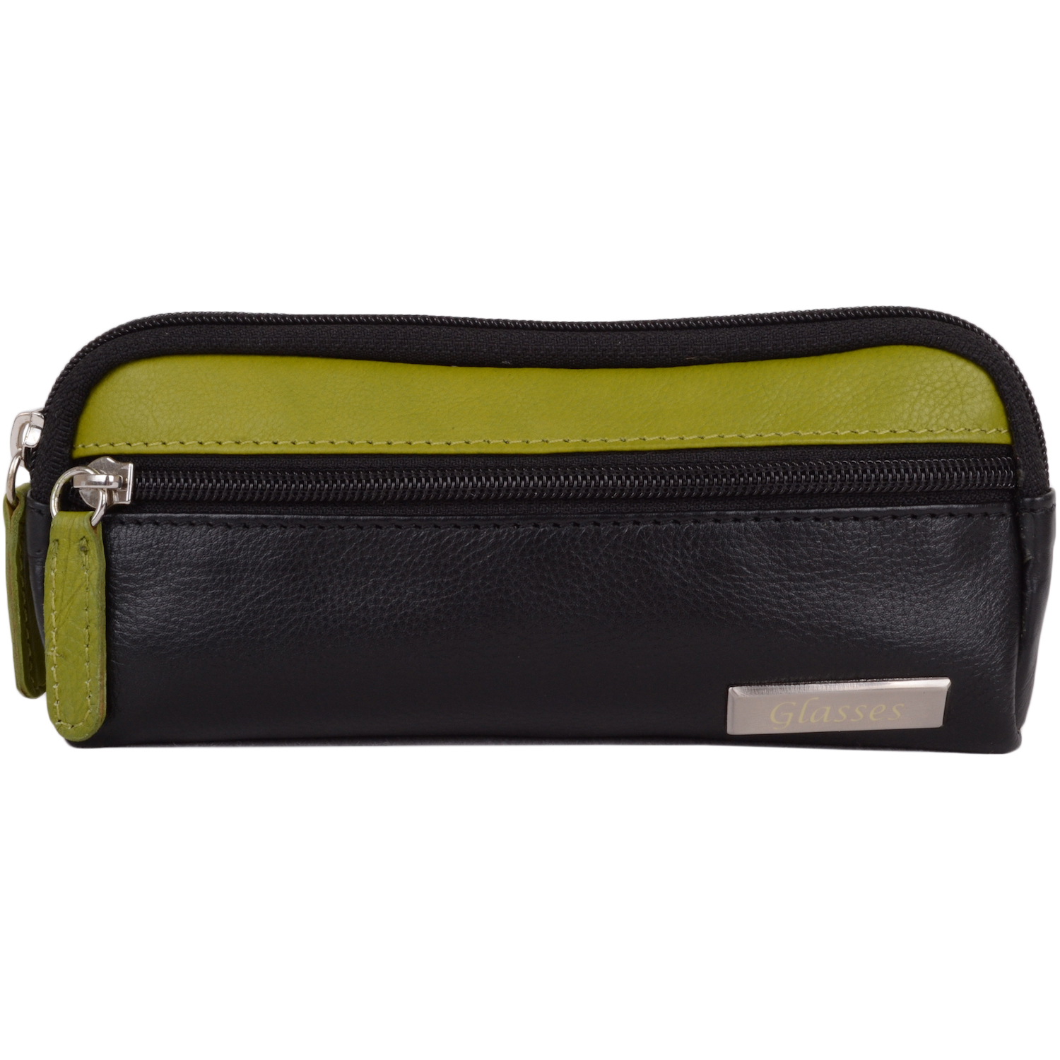Soft Leather Glasses Case - Daisy